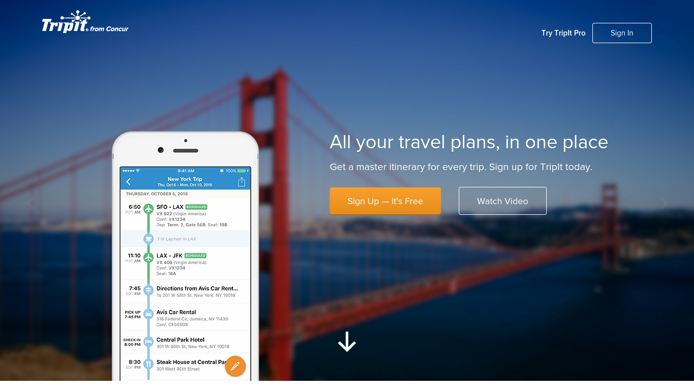 tripit the travelers agent case study Access to case studies expires six months after purchase date publication date: october 22, 2008 in july 2008, the co-founders of tripit, a free online travel organizer that aggregated travelers.