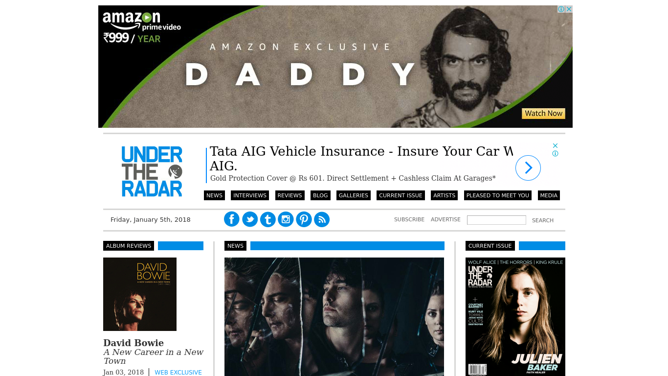 undertheradarmag.com Screenshotx