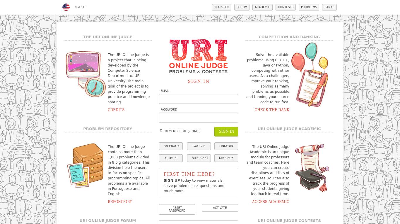URI Online Judge Alternatives - 23 Best URI Online Judge