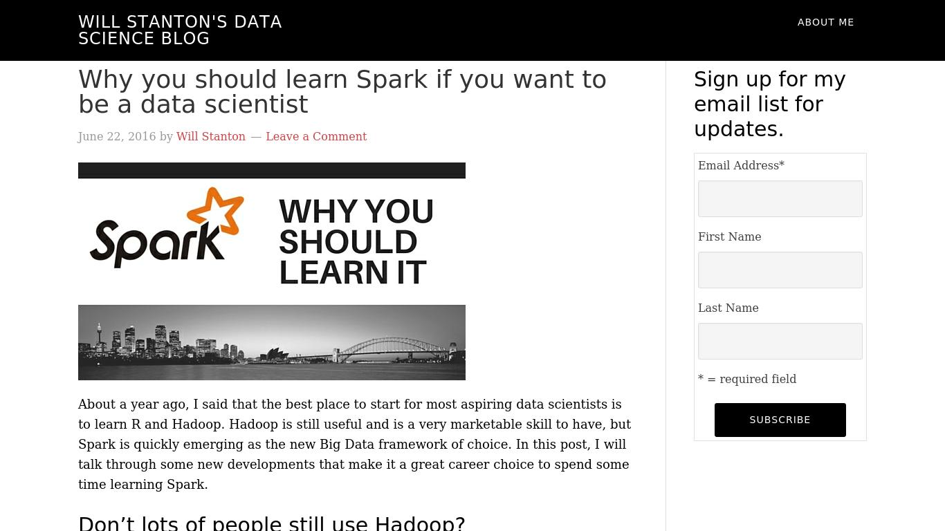 will-stanton.com Screenshotx
