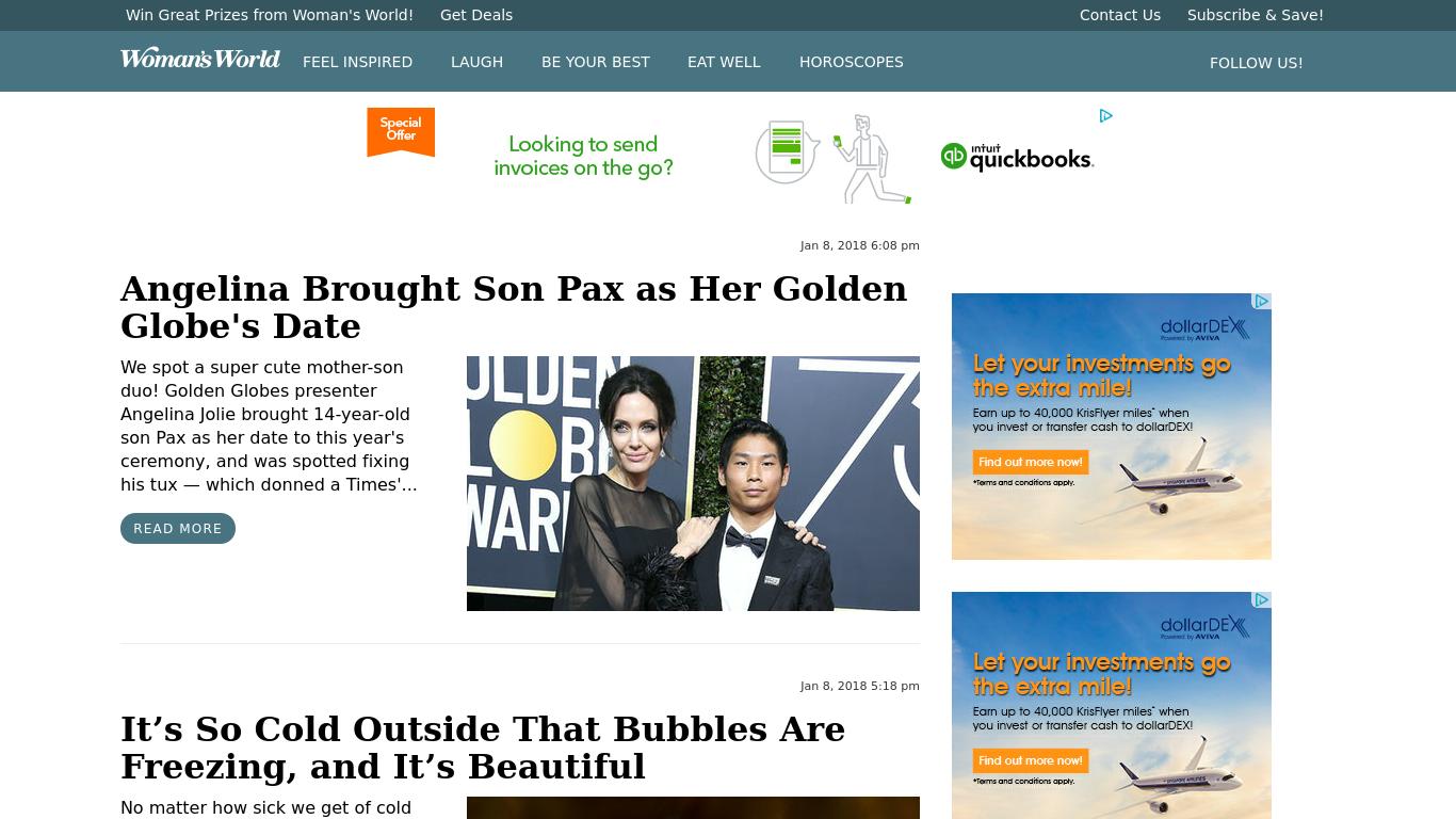 womansworld.com Screenshotx