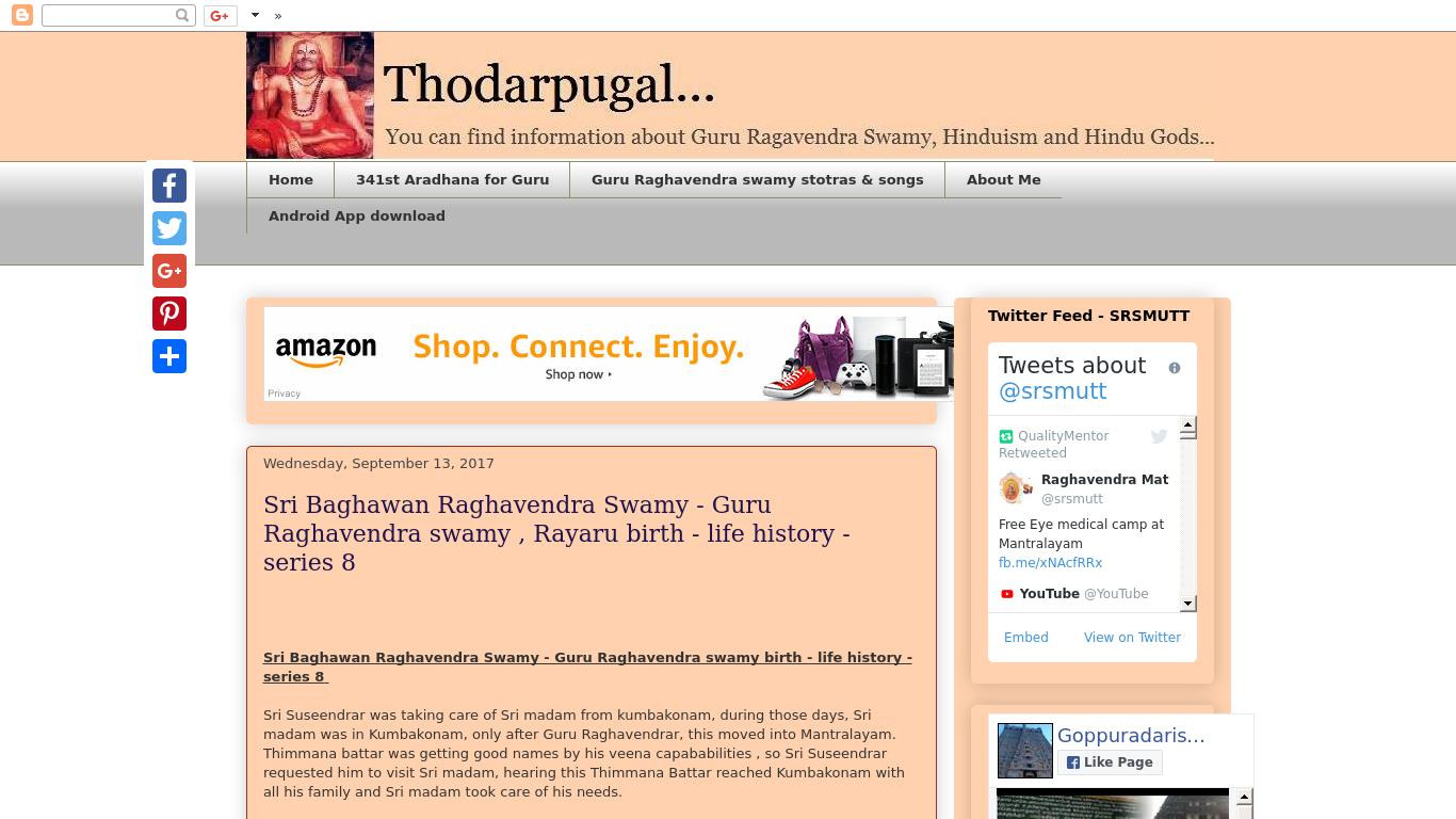www.thodarpu.blogspot.com Screenshotx