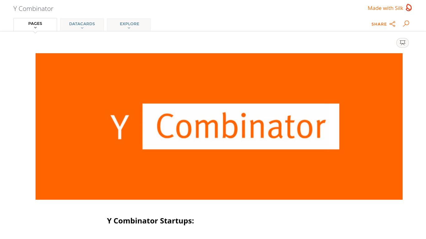 y-combinator.silk.co Screenshotx