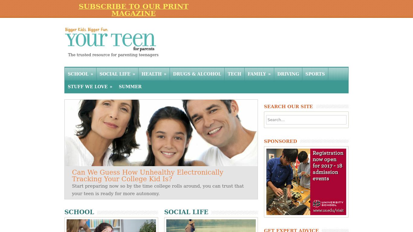 yourteenmag.com Screenshotx