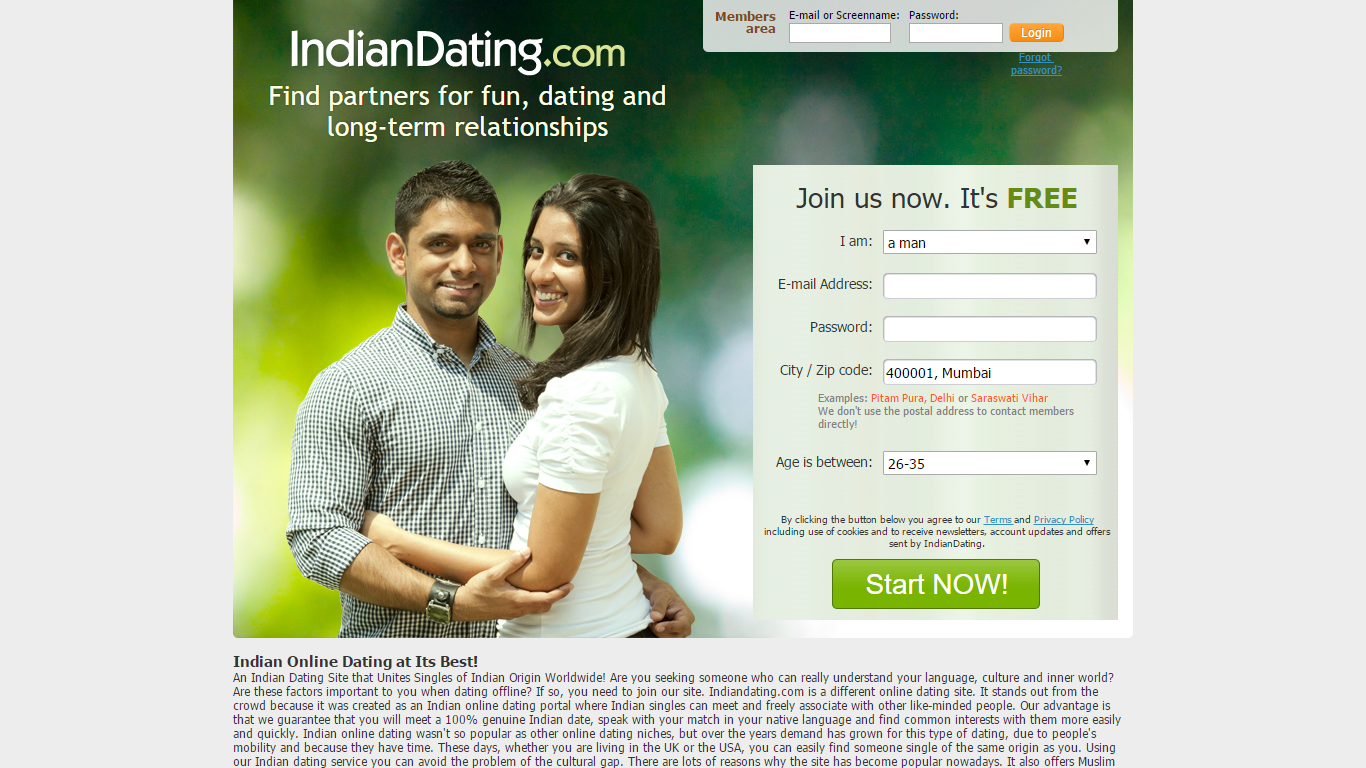 Free love dating sites in india